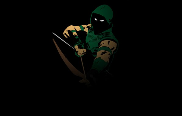 Picture Art, Green Arrow, Oliver Queen, Comics DC, Emerald Archer