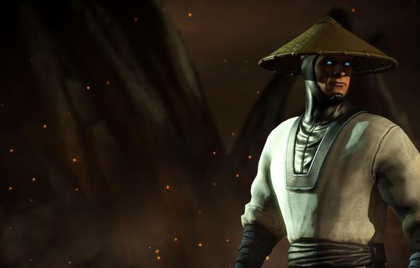 Picture suit, Raiden, god of thunder, tournament, Mortal Kombat X