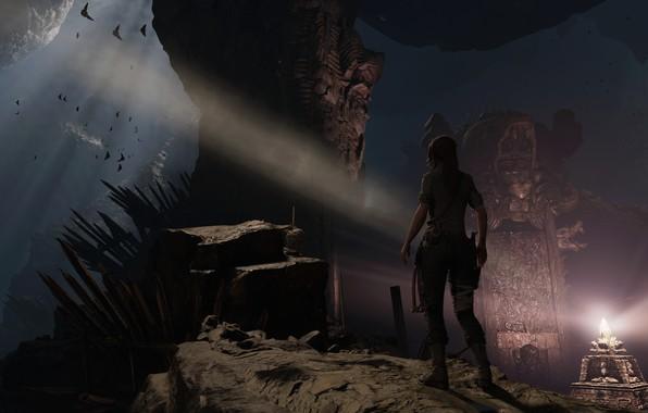 Picture girl, Tomb Raider, Lara Croft, Lara Croft, tomb raider, screenshot, Shadow of the Tomb Raider, …