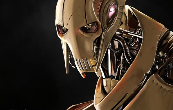Picture Star Wars, General Grievous, Cyborg, Qymaen Jai Shelal, The Confederacy of independent systems, Supreme commander …