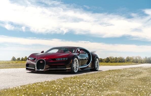 Picture Bugatti, Road, Chiron, ANRKY