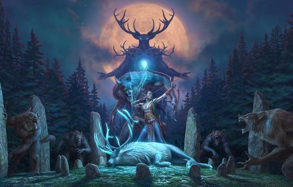 Picture 2018, DLC, The Elder Scrolls, The Elder Scrolls Online, Wolfhunter