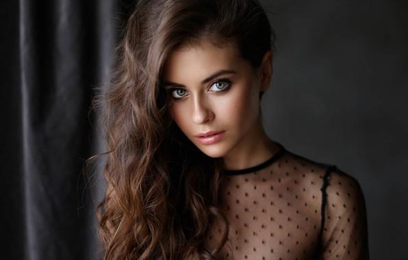 Picture look, girl, model, hairstyle, Dmitry Arhar