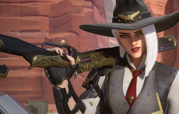 Picture game, Blizzard, Ashe, Overwatch