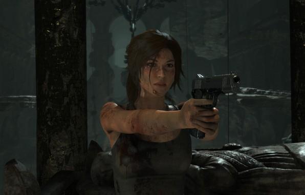Picture Gun, Lara Croft, Rise Of The Tomb Raider