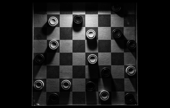 Picture background, Board, checkers