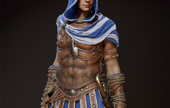 Picture game, Kassandra, Ubisoft, Assassin's Creed, Odyssey, Assassin's Creed Odyssey, Athenian hero