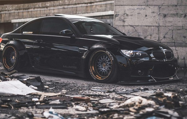 Picture BMW, coupe, E92, Wide Body, Liberty Walk, 3-Series, Pandem