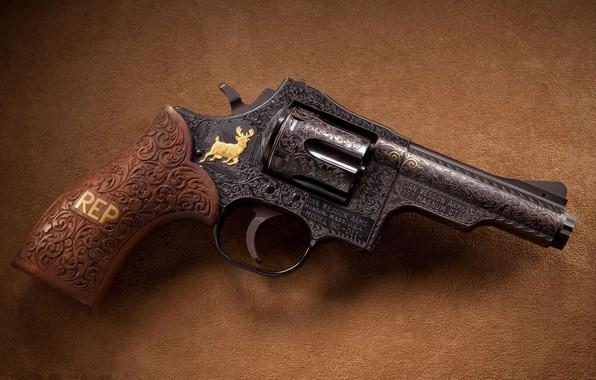 Picture Gun, Magnum, Weapon, 357