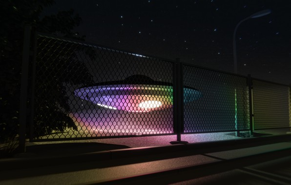 Picture ufo, fantasy, color, scifi, blender3d, 3dart, blender render, rabitz