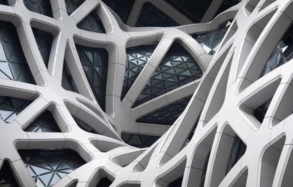 Picture Line, Bending, Form, Architecture, Macau, Beams, Morpheus Hotel