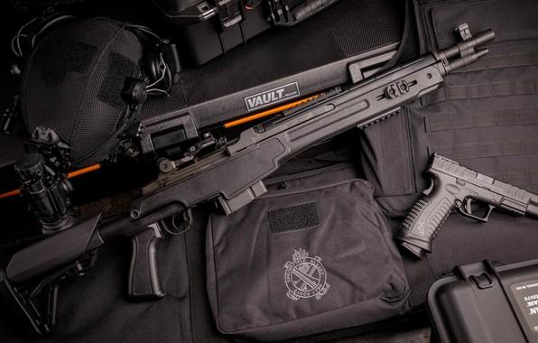 Picture gun, weapons, gun, pistol, rifle, weapon, rifle, M14, marksman, m&p, MK14, XDM Elite