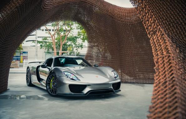 Picture Porsche, 918, Supercar