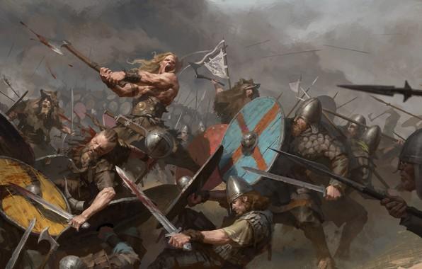 Picture weapons, blood, battle, warrior, Battle, armor