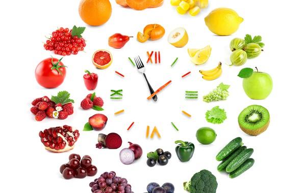 Picture cherry, berries, raspberry, lemon, watch, apple, oranges, kiwi, blueberries, grapes, bananas, pumpkin, pepper, fruit, orange, …