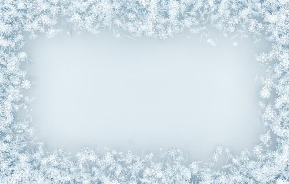Picture snow, snowflakes, background, white, christmas, winter, background, snow, snowflakes, frame