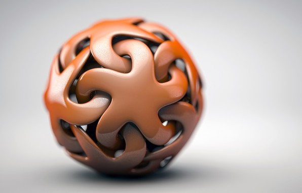 Picture tangle, star, sphere, the volume