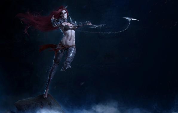 Picture Warhammer, Warhammer 40 000, dark eldar, drukhari, Lalit Vesparax, Lelith Hesperax, drugari, dark Eldar