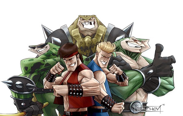 Wallpaper Figure Art Game Retro Minimalism Pencil Characters Billy Jimmy Battletoads Double Dragon Rash Zitz Pimple Evgeny Yurichev By Evgeny Yurichev Images For Desktop Section Minimalizm Download