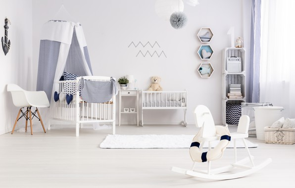 Picture toys, furniture, interior, children's room