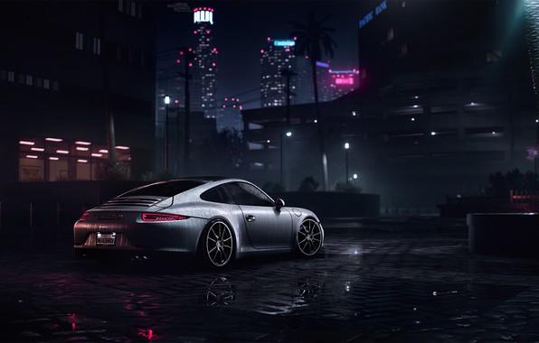 Picture Auto, 911, Porsche, Machine, Porsche 911, Rendering, Need For Speed, Porsche 911 Carrera S, Carrera …