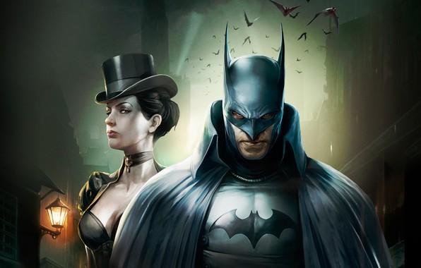 Picture Batman, DC Comics, Catwoman, Bruce Wayne, Movie, Batman:Gotham by gaslight