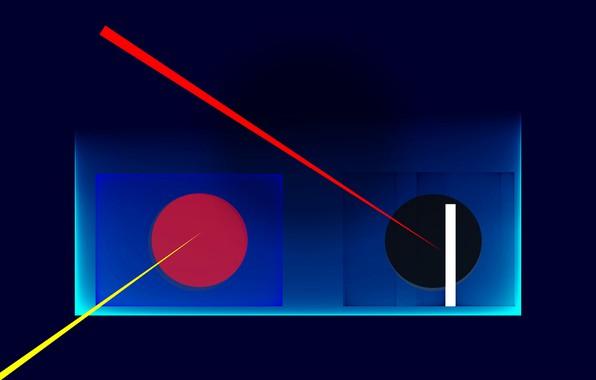 Picture background, color, figure
