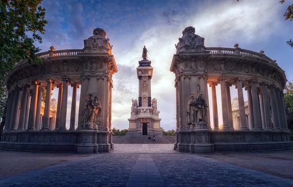 Picture Madrid, Monument, Architectural Column, Famous Place
