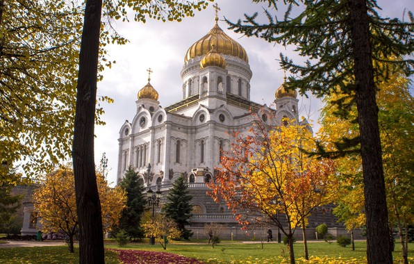 Picture Church, Moscow, Russia