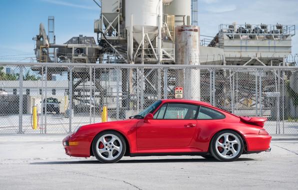 Picture Red, Porsche 911, Germany, Turbo, 993, Sportcar