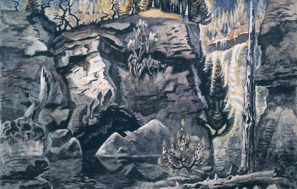 Picture Solitude, Charles Ephraim Burchfield, 1944-63