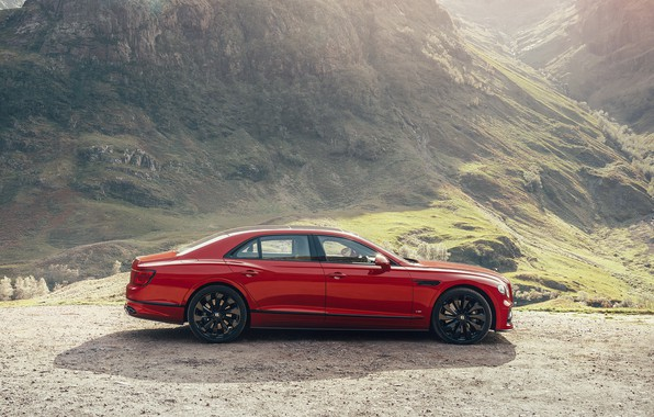 Picture Bentley, Twin Turbo, Flying Spur, 2021