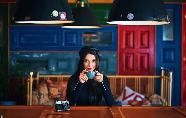 Picture Girl, the camera, Cup, Alexander Belozerov