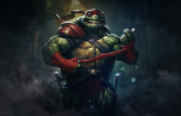 Picture Style, Background, Fantasy, Teenage mutant ninja turtles, Art, Rafael, Style, Fiction, TMNT, Teenage Mutant Ninja …