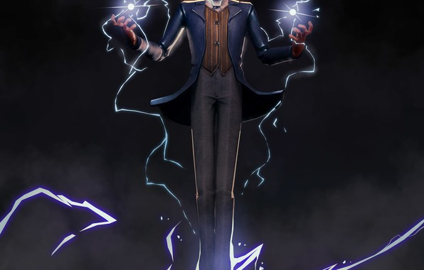 Picture lightning, lightning, power, Tesla, Tesla, physicist, Nikola Tesla