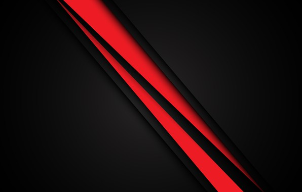 Picture line, red, background, black, background
