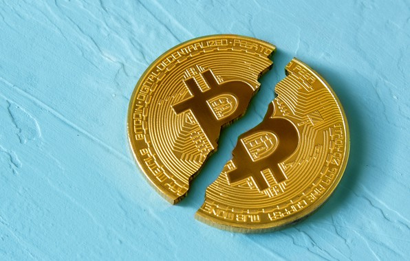 Picture turquoise, coin, the gap, bitcoin, bitcoin, btc