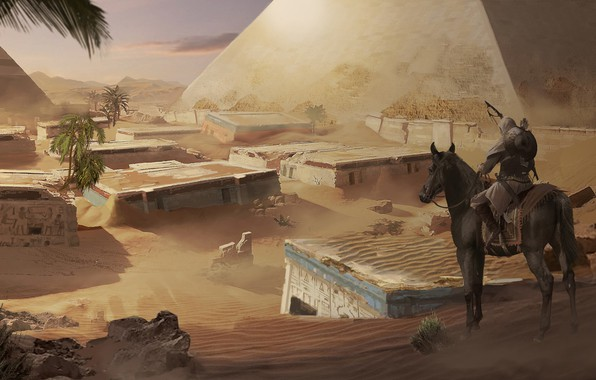 Picture Assassin's Creed Origins, Origins, multi-platform video game, Eddie Bennun