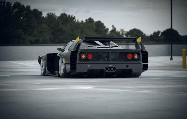 Picture Auto, Machine, Ferrari, F40, Rendering, Concept Art, Ferrari F40, Khyzyl Saleem, by Khyzyl Saleem, F40 …
