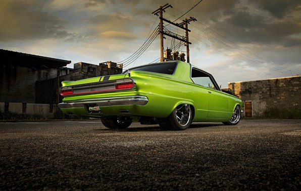 Picture Muscle, Dodge, Car, Custom, Dart, Dodge Dart, Pro Touring