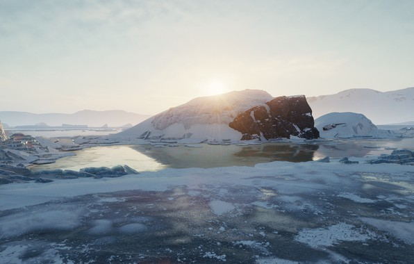 Picture landscape, game, games, world of tanks, wot, o-ho