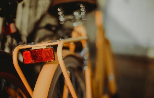 Picture bike, background, lantern