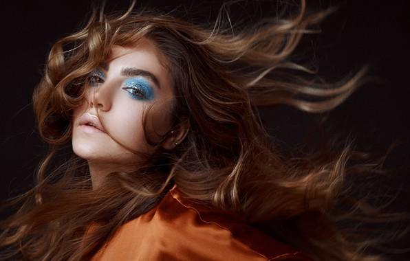 Picture look, girl, face, hair, makeup, Amirhossein Kazemi