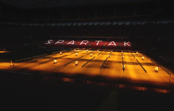 """Picture Field, Light, Football, Stadium, Spartacus, Spartak, Meat, 1922, Red-white, FC Spartak, madeinkipish, """"Spartak-Moscow"""", Spartak Moscow, …"""