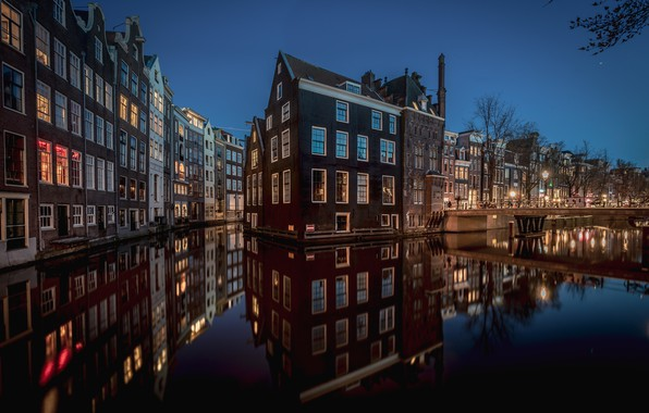 Picture Amsterdam, North Holland, Canal, De Wallen