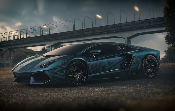Picture Auto, Lamborghini, Machine, Car, Render, Design, Supercar, Aventador, Lamborghini Aventador, Supercar, Sports car, Sportcar, Transport …