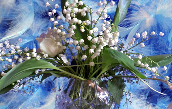 Picture summer, flowers, spring, Lily of the valley