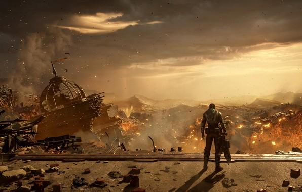 Picture Apocalypse, gears of war, games, microsoft game studios, of gears 5, gears 5, Kate Diaz, …