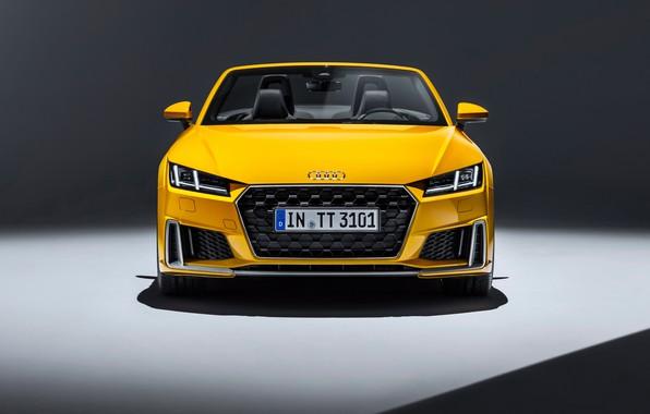 Picture Audi, Roadster, front view, 2018, Audi TT, TTS