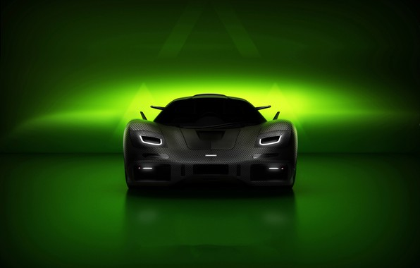 Picture rendering, supercar, McLaren F1, Hyperion Edition
